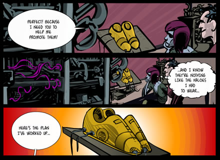 Carabella Online Comic Chapter 5- episode 3