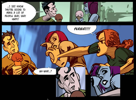Carabella Online Comic Chapter 5- episode 6
